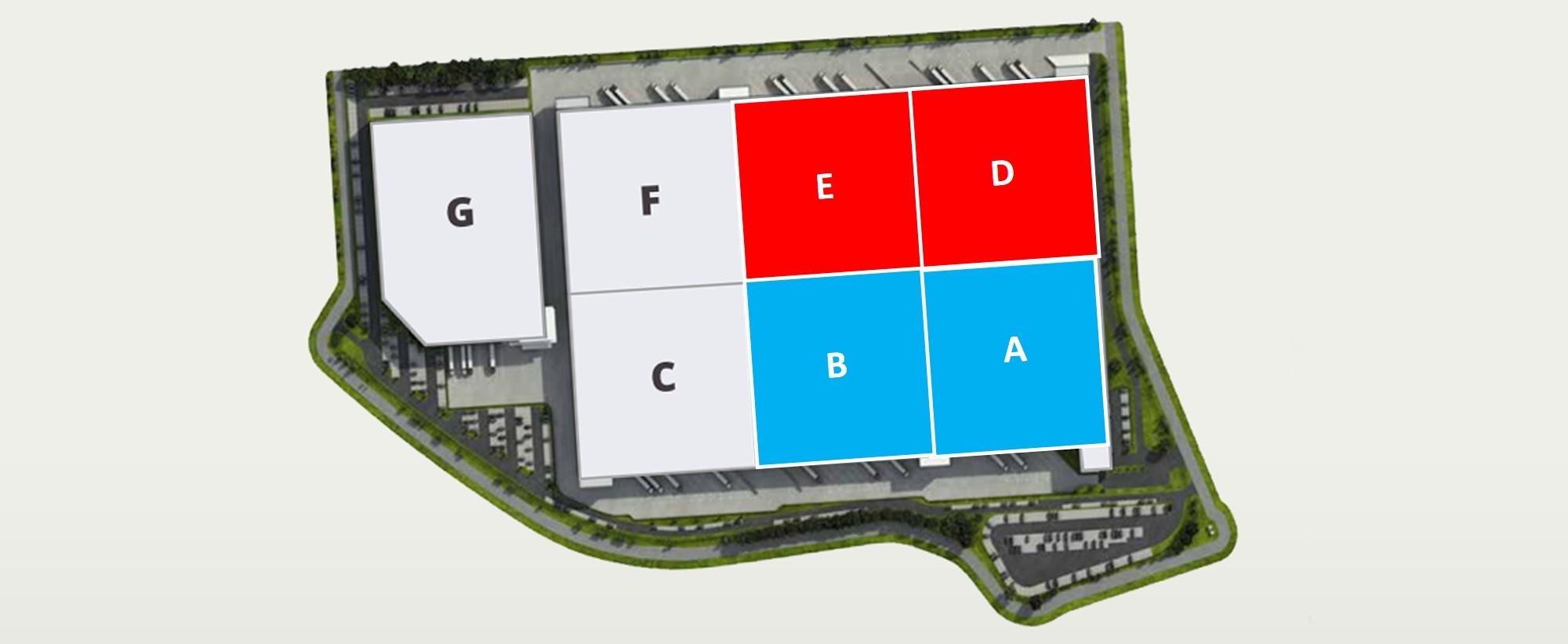 AGORA 21 Logistic Campus - Vloerplan