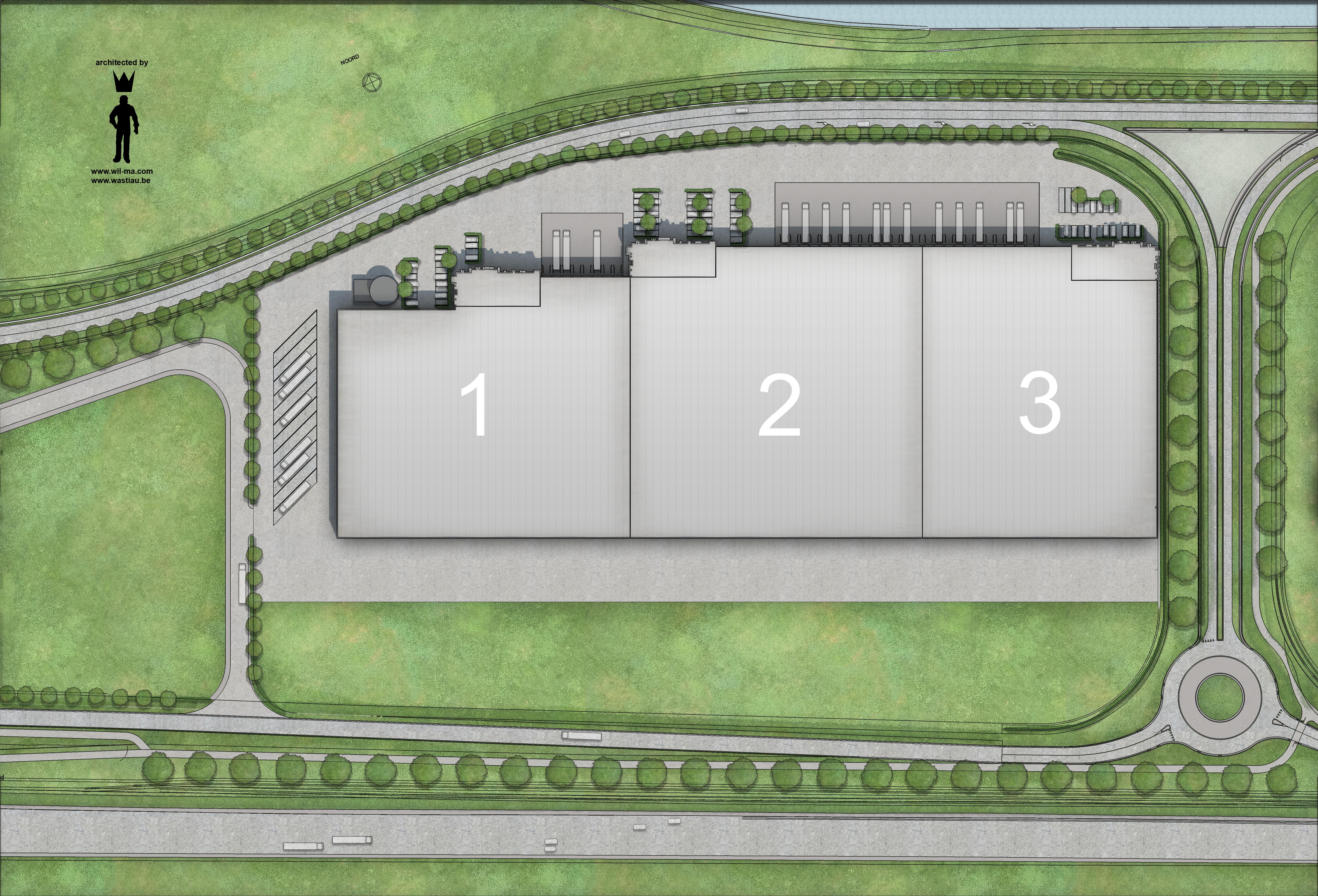 GHENT GATEWAY - Vloerplan